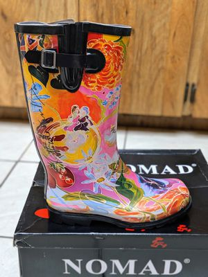 Nomad Designer Rain Boots Size 9 for Sale in Largo, FL