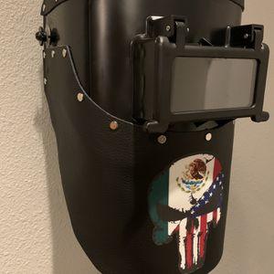 Welding Helmet Costume Leather for Sale in Pharr, TX