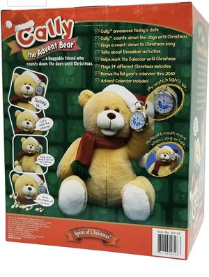 Cally the talking calendar Song Teddy Bear for Sale in Fort Worth, TX