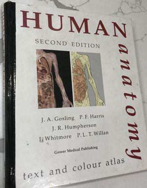 Human Anatomy Tex and color Atlas for Sale in Union, NJ