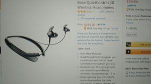 Bose QuietControl 30 Wireless Headphones for Sale in Columbus, OH