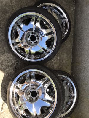 "Wheels/Tire 20"" Like New for Sale in Milford, MA"