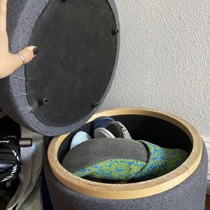 Small Storage Stool for Sale in Garden Grove, CA