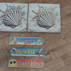 Assorted Beach Themed Decorations for Sale in Ansonia, CT