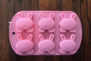 Easter Bunny Candy Chocolate Soap Jello Silicone Mold for Sale in Fontana, CA
