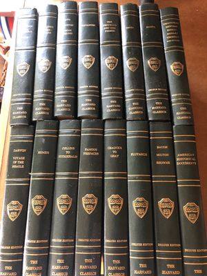 Set of 16 Harvard Classics. Deluxe Edition for Sale in Oshkosh, WI