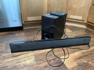 Sony Soundbar with Subwoofer for Sale in Huntington Beach, CA