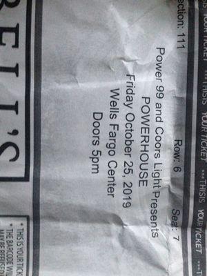 Powerhouse ticket for Sale in Philadelphia, PA