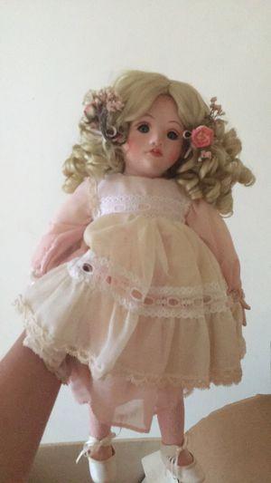 Antique porcelain doll for Sale in Charleston, WV