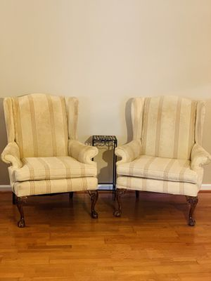 Wingback Chairs / Accent Chairs / Living Room Chairs / Large Chairs / Comfortable Chairs for Sale in Alexandria, VA