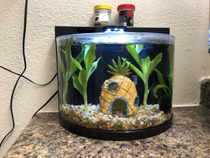 Brand new Betta fish tank w/ everything included for Sale in Davis, CA