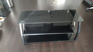 Glass tv stand for Sale in Tempe, AZ