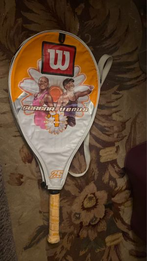 Serena Venus Wilson Tennis Racket for Sale in Los Angeles, CA