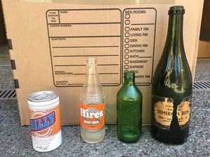 4 antique bottles for Sale in Seattle, WA