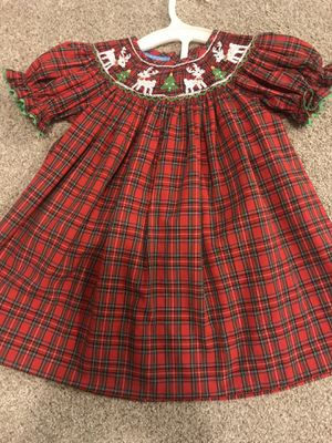 Anavini Hand Smocked 12M Baby Dress for Sale in Houston, TX
