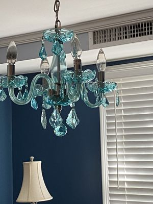 Turquoise chandelier for Sale in Narragansett, RI