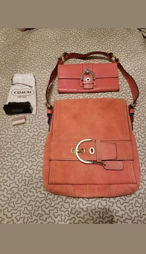 Coach bag and wallet for Sale in Kissimmee, FL