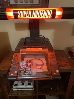 SNES SUPER NINTENDO KIOSK for Sale in Severn, MD