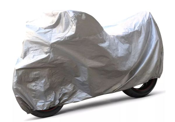 New Lightweight MOTORCYCLE COVER - Rain, UV, Dust, Scratch Protection