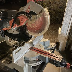Milwaukee 12in Miter Saw for Sale in Queen Creek, AZ