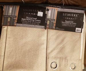 """84"""" Open box blackout curtains for Sale in Hawthorne, CA"""