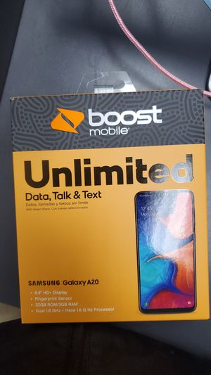 Brand new Samsung A20! for Sale in Apex, NC