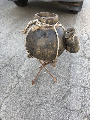 African water pot / stand is made of iron arrows for Sale in Huntington Beach, CA