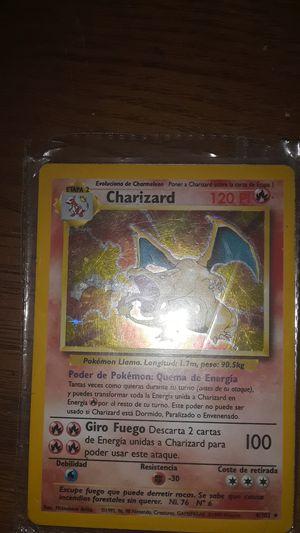 Pokemon charizard holo very rare card for Sale in Garner, NC