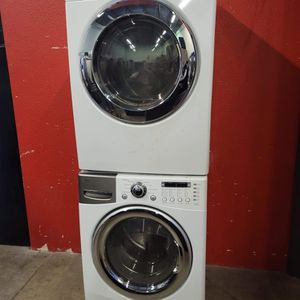 Washer and electric dryer set good working condition set for $399 for Sale in Wheat Ridge, CO