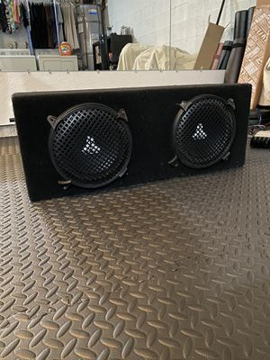 "2 JL Audio 10"" Subwoofers - W3 V2 D6 for Sale in La Jolla, CA"