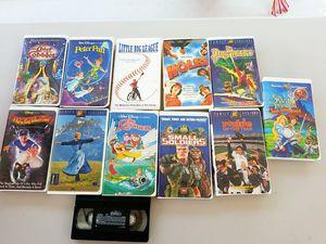 Vhs Disney kid movies for Sale in Arroyo Grande, CA