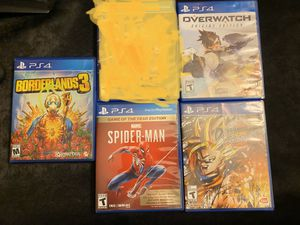 Ps4 Games Selling together Only for Sale in Riverside, CA
