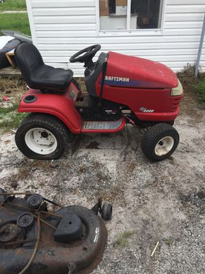 ((Parting out only))craftsman riding lawn mower for Sale in Lakeland, FL