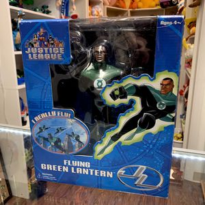 2003 Fusion Toys Justice League Flying Green Lantern Figure for Sale in Elizabethtown, PA