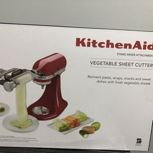 KitchenAid White Vegetable Sheet Cutter Attachment for Sale in Laurel, MD