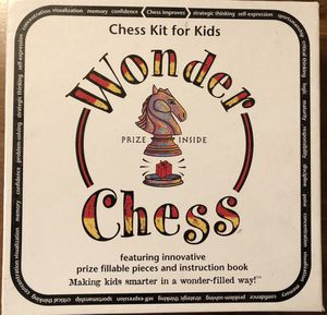 Chess board game. Teaching style for kids. for Sale in Seattle, WA