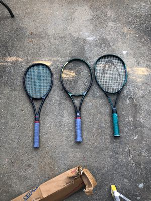 Tennis rackets for Sale in Charlotte, NC