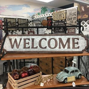 """Brand New Metal Welcome Sign (Dimensions: 37""""x8"""") for Sale in North Las Vegas, NV"""