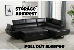 SECTIONAL SLEEPER NEW IN BOX for Sale in Pompano Beach, FL