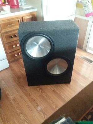 15in Eclipse titanium Speakers for Sale in Millsboro, DE