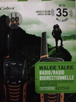 Cobra Walkie Talkies, New for Sale in Oceanside,  CA