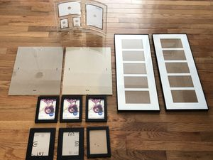 Picture Frames, Floating Glass Frames, Assorted, Like New Condition! for Sale in Boston, MA