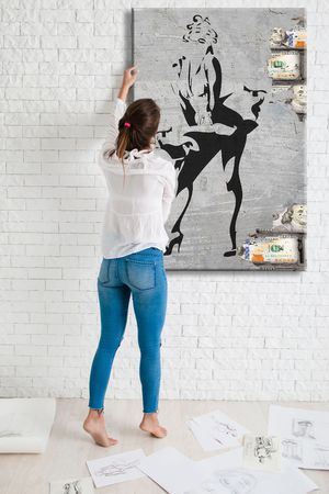 Marilyn Monroe Modern Wall Art 700+ Museum Quality Canvas Paintings. Sizes Start @$89/ONLY $22 down! 👉ArtworkAddict(dot)com for Sizes+Sales! EZ Retur for Sale in Miami, FL