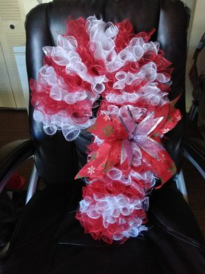 Candy Cane Wreath for Sale in Buckhannon, WV