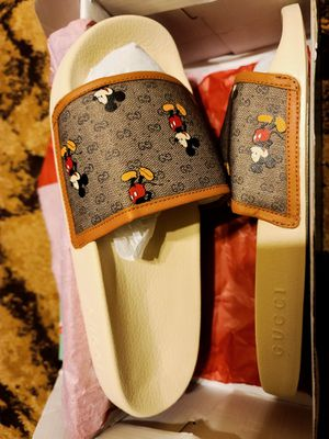Gucci Mickey Slides for Sale in Redford Charter Township, MI