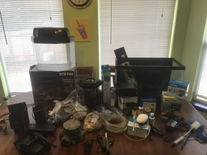Fish tank+bunch of accessories for Sale in Portland, OR