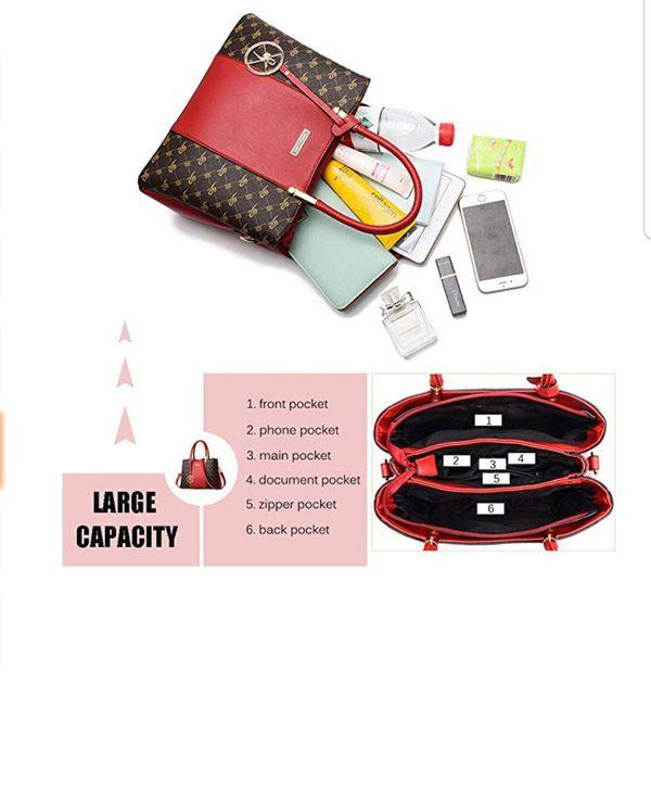 Women Purses and Handbags Top Handle Satchel Shoulder Bags Messenger Tote Bag For Ladies