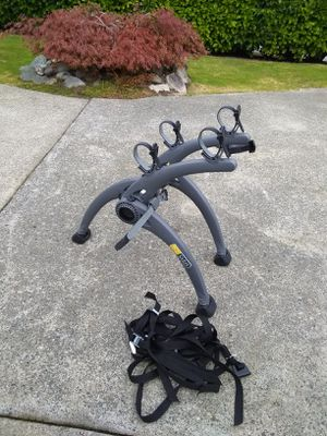 SARIS • 2 BIKE RACK • TRUNK MOUNT CAR/SUV compact • EXCELLENT CONDITION for Sale in SeaTac, WA