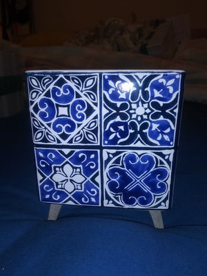 Indigo tile Scentsy warmer for Sale in Temple City, CA