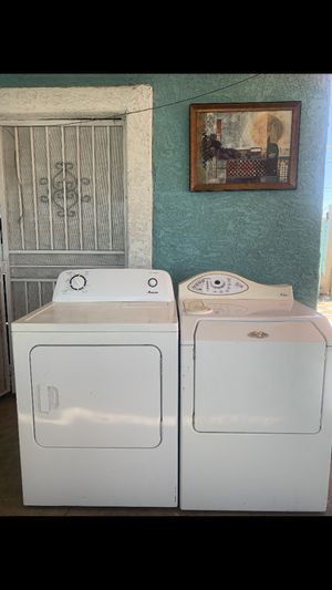 Maytag washer and amana dryer for Sale in Phoenix, AZ